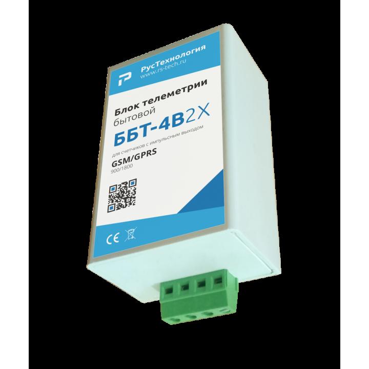 Блок телеметрии  ББТ-4В-2Х (для счетчиков холодной/горячей воды)