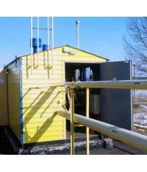 Система автоматизации и телеметрии ГРП 1 линия редуцирования  автономная работа от солнечной батареи LiFePO4