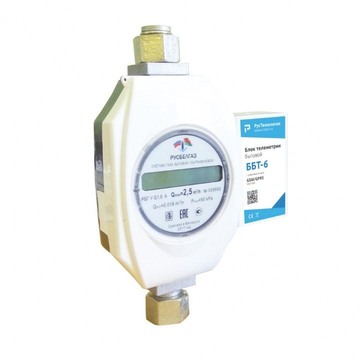Ультразвуковой счетчик газа с телеметрией «РусБелГаз» G6 TкА